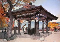 Hiroshi Yoshida   Utagahama 歌ヶ浜 or うたがはま