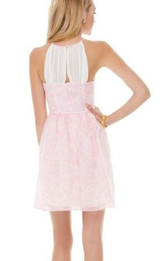 Lilly Pulitzer Kailey Chiffon Halter Dress