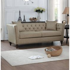 MARCEAU Sofa Tan