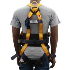 3 D Ring Safety Harness - FallTech Journeyman Safety Harness - 3 D Rings