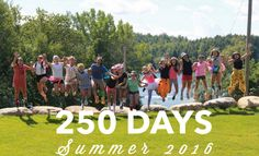 The countdown is ON! #250days #10for2 #CampWaldenNY