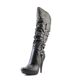 b5740c8c1bb G By Guess Darrlin Synthetic Knee High Boot - BH4KAIGH1 Black Knees