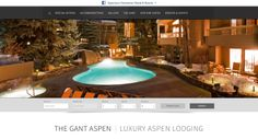 As a premier resort in Aspen, Colorado, The Gant's new responsive website creates a seamless, beautiful user experience. http://www.bluetentmarketing.com/portfolio