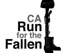 Logo Upgrade - Run For The Fallen - Freelance Graphic & Web Design