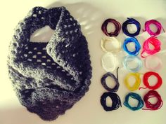 scarf, crochet, wool, winter, square, gola, lã, gray, cinzento