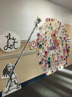 dot day art projects By grade By grade Kindergarten Art, Preschool Art, Collaborative Art Projects, Dot Day, Art Curriculum, Art Lessons Elementary, Art Lesson Plans, Art Classroom, Art Club