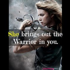 she bring our the warrior in you lesbian lgbt gay quote love http://Lesbian-Apparel.com