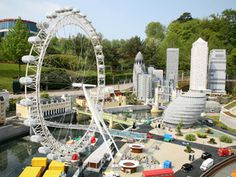 Visit Legoland in Windsor. Over 55 Lego rides & attractions includings the Lego driving school & the largest water play structure in the UK! Legoland Windsor, Great Days Out, Driving School, Water Play, Miniature, Spaces, City, Fun, Travel