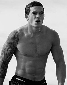 Plays Rugby League,  Plays Rugby Union for the All Blacks,  Boxes - and OWNS,  Super Beautiful  ...Just your average kiwi boy