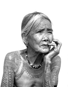For all those people who say you'll look ridiculous with tattoos when you're older... I think she is beautiful!