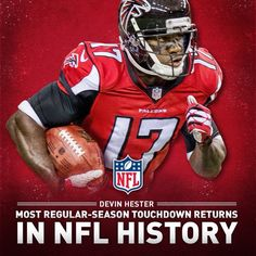 Devin Hester setting the record against Tampa Bay in ATL in But Football, Falcons Football, Best Football Team, National Football League, Football Players, Baseball, Atlanta Falcons Rise Up, Devin Hester, Arizona Cardinals Football