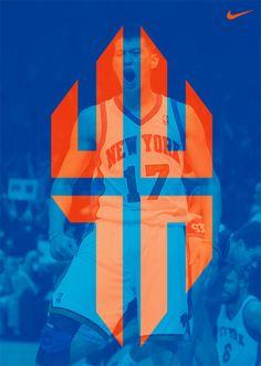 Nike X Jeremy Lin Logo Concept by AJ Dimarucot.