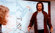 Coding at the whiteboard - from HBO's Silicon Valley