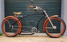 Basman 3744 | Flickr - Photo Sharing! Beach Cruiser Bikes, Cruiser Bicycle, Trike Scooter, Lowrider Bicycle, Retro Bicycle, Chopper Bike, Fat Bike, Easy Rider, Mini Bike