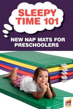 Sleepy Time 101: New Nap Mats for Preschool | ECR4Kids Blog