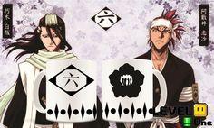 Caneca Anime Bleach 6° Esquadrão