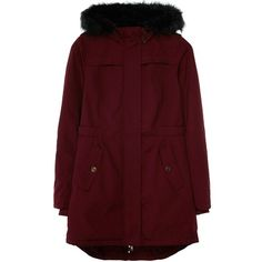 Dans un esprit plus sportwear ce manteau est idéal ! 120€ Ici : http://stylefru.it/s993505 #bordeau