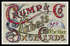 Trade card -- Crump & Company | Sheaff : ephemera
