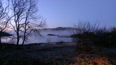 Llyn Trawsfynydd on a winter's morning