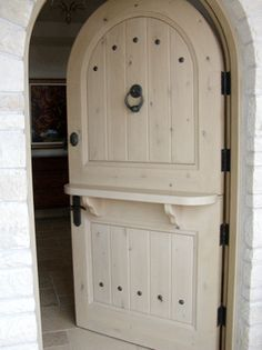 dutch door.. if I had a million dollars... I would design a house around this!