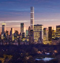 Rafael Vinoly's 432 Park Avenue will be the Tallest Residential Tower in the Western Hemisphere 432 Park Avenue, Monuments, Condominium, Architecture, Seattle Skyline, San Francisco Skyline, New York City, Westerns, Skyscraper