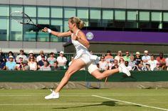 Klara Koukalova flies through her forehand - Billie Weiss/AELTC