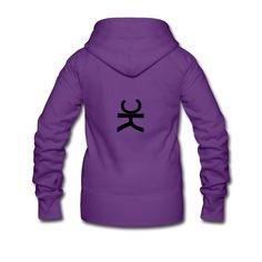 #design #chepakko #ominoK black #women #sweatshirt #hooded #zip