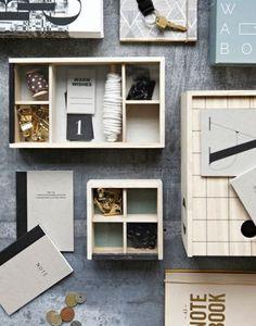 NOTEBOOK A5 | Words set/2 | Stationery | Zink & Zo
