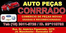 AUTO PEÇAS CONRRADO COMÉRCIO DE PEÇAS NOVAS, USADAS E RECONDICIONADAS