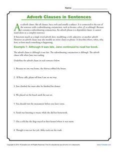 Progressive Story: Adverb Clauses | Träning
