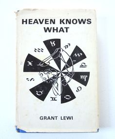 Blue Book Heaven Knows What by Lewi Astrology by injoytreasures, $8.00