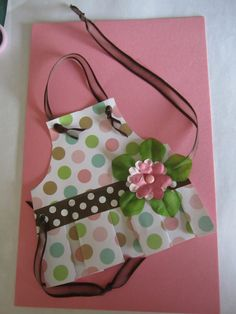 Apron Greeting Card  www.caguimbalcreations.weebly.com