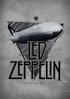Gig Posters: site reúne mais de 150 mil flyers de rock alternativo Gig Posters: website brings together more than alternative rock flyers Led Zeppelin Poster, Led Zeppelin Wallpaper, Led Zeppelin Art, Hard Rock, Gig Poster, Rock Posters, Blues Rock, Rock And Roll, Digital Foto