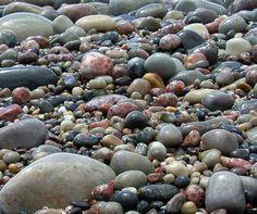 The beach at Columba's Bay, Iona, Scotland...