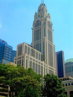 C. Howard Crane's LeVeque Tower, Columbus, Ohio