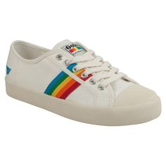 Gola Coaster Rainbow Women's Low-Top Sneaker