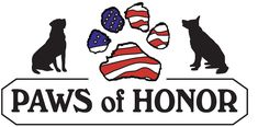 Old Dominion Animal Health Center of McLean, VA cares for the retired K9s of Paws of Honor 501(c).