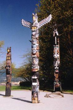 Totem Poles - Canada