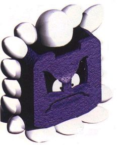 Thwomp Super Mario Rpg, Aesthetics