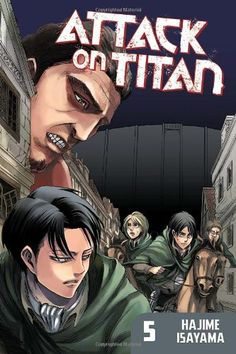 Attack on Titan 5: Thanks to Eren, humanity has taken the town of Trost back from the Titans. Exhausted, Eren falls into a coma for three days – and wakes in shackles, staring at Erwin Smith, leader of the Survey Corps. Certain that Eren's father's research holds the key to the mystery of the Titans' rise, Smith wants an expedition to retrieve it from the house where Eren grew up. $8.49