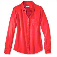 Spring Fashion Trends — Flame: Equipment Shirt