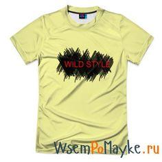 Мужская футболка 3D с полной запечаткой Wild Style - интернет магазин WsemPoMayke.Ru http://wsempomayke.ru/product/manshortfull/998488  Доставка по России курьером или почтой, оплата при получении. Мужская футболка 3D с полной запечаткой Wild Style купить с доставкой, оплата при получении. Посмотреть размеры и цену > http://wsempomayke.ru/product/manshortfull/998488
