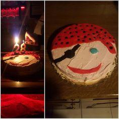 Pirat frosting cake