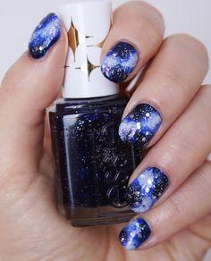 Galaxy Nails #essie #galaxynails #essielove