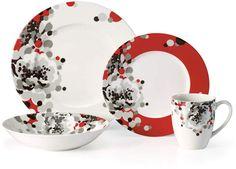 Dinnerware, Floral Confetti 4 Piece Place Setting #apos#Mikasa#pattern