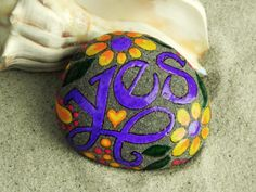 """Yes"". Rock art. 