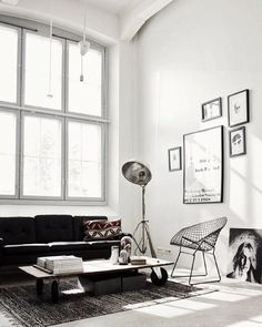 The Best Minimalist Living Rooms | StyleCaster