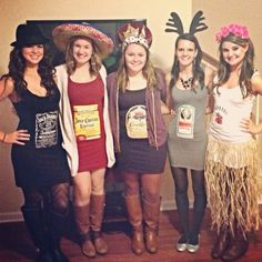 Cute alcohol Halloween costumes!
