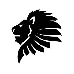Lion Animal Wild Cat Graphics SVG Dxf EPS Png Cdr Ai Pdf Vector Artwork Clipart on the spot obtain Digital Vector Preto E Branco Obtain Art Clipart, Vector Art, Vector Graphics, Owl Clip Art, Tribal Arm Tattoos, Lion Drawing, Lion Wallpaper, Black Lion, Lion Logo