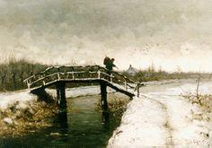 Louis Apol - Reiziger op een boogbrug